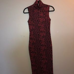 Guess by Marciano Leopard Print Dress